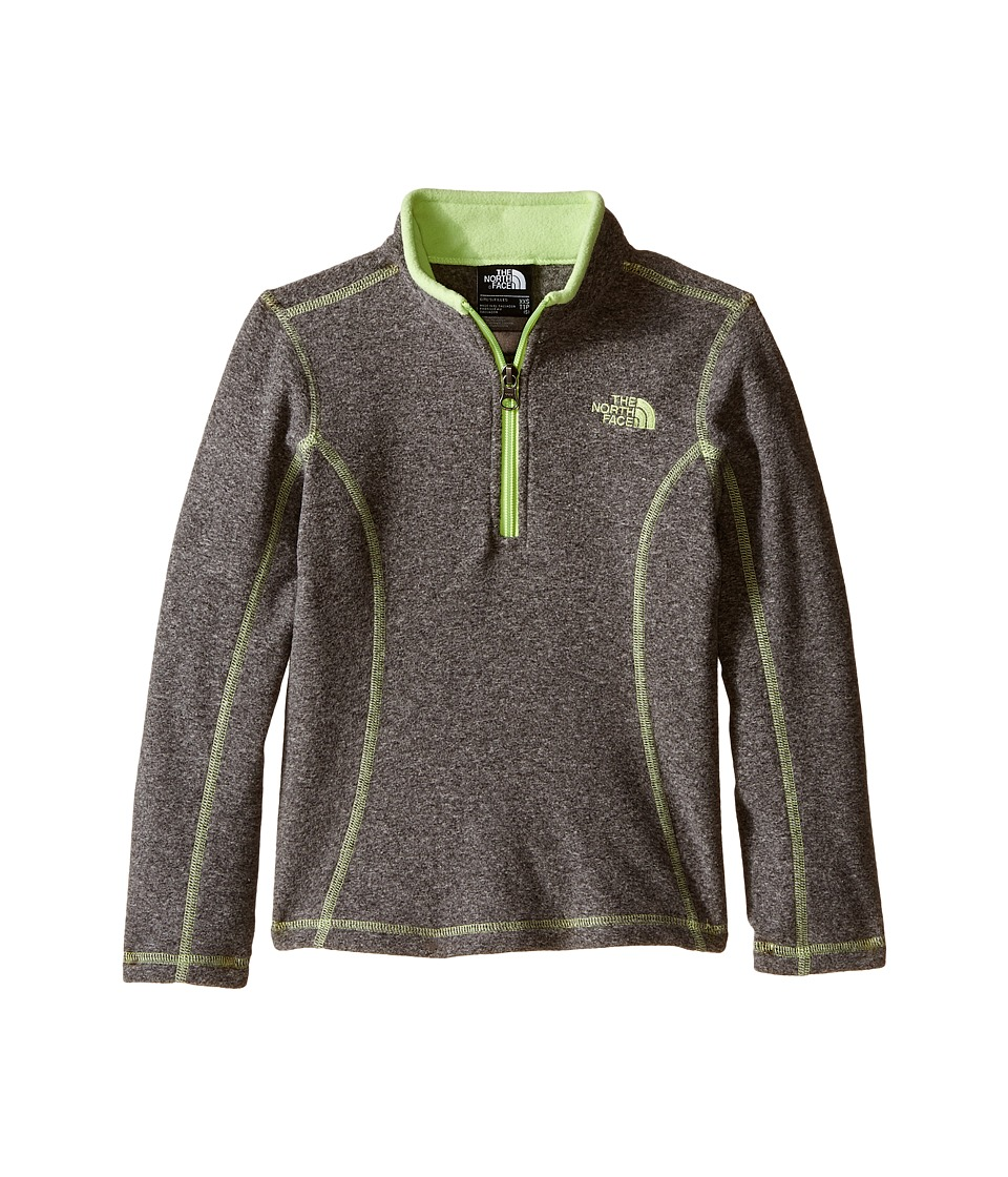 The North Face Kids - Glacier 1/4 Zip (Little Kids/Big Kids) (TNF Medium Grey Heather) Girl's Sweatshirt