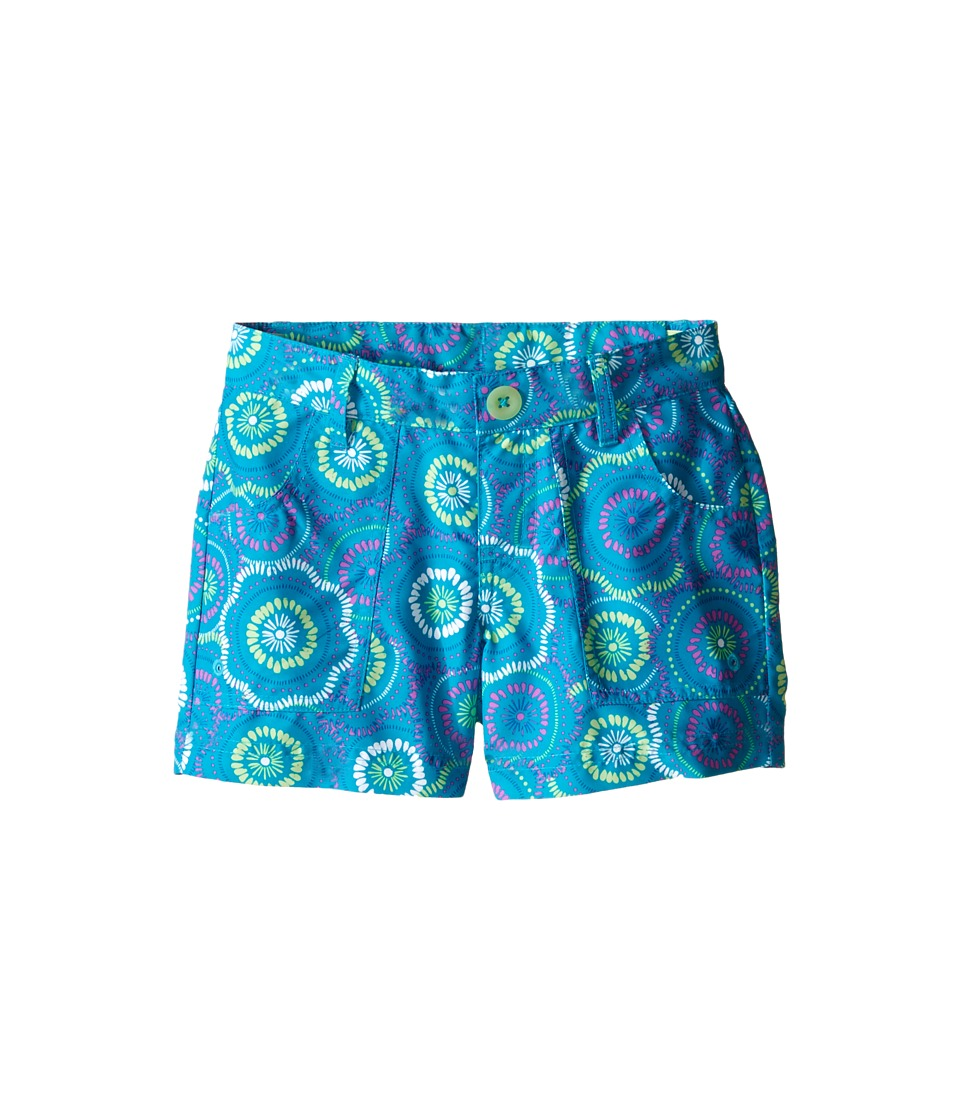 The North Face Kids - Argali Hike/Water Shorts (Little Kids/Big Kids) (Bluebird Sand Dollar Print) Girl's Shorts