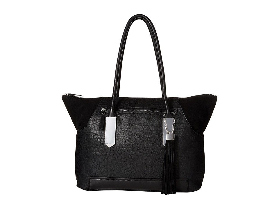 French Connection - Camden - Tote (Black/Black) Tote Handbags