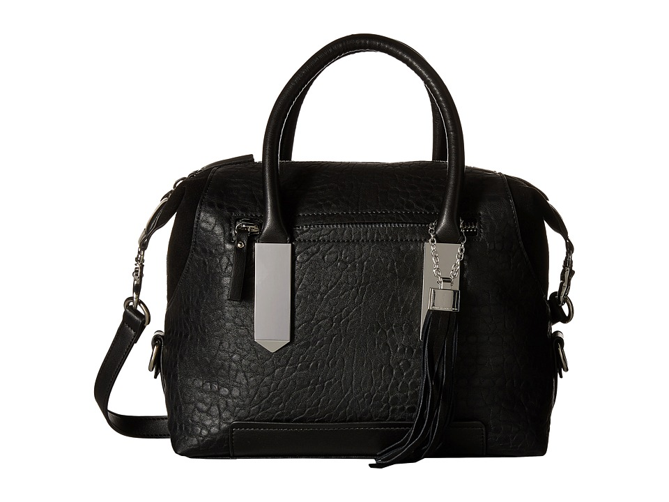 French Connection - Camden - Satchel (Black/Black) Satchel Handbags