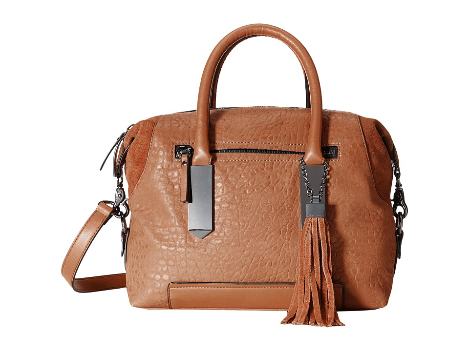 French Connection - Camden - Satchel (Tan) Satchel Handbags