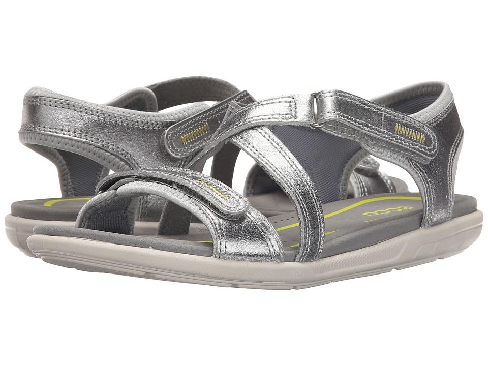 ECCO - Bluma Strap Sandal (Alusilver) Women's Sandals