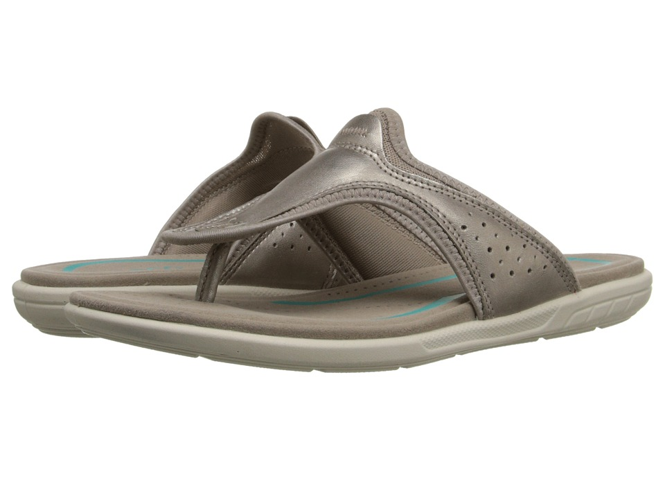 ECCO - Bluma Thong (Moon Rock) Women's Sandals