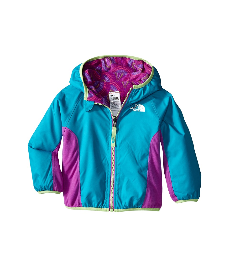 The North Face Kids - Reversible Grizzly Peak Wind Jacket (Infant) (Bluebird) Kid's Coat