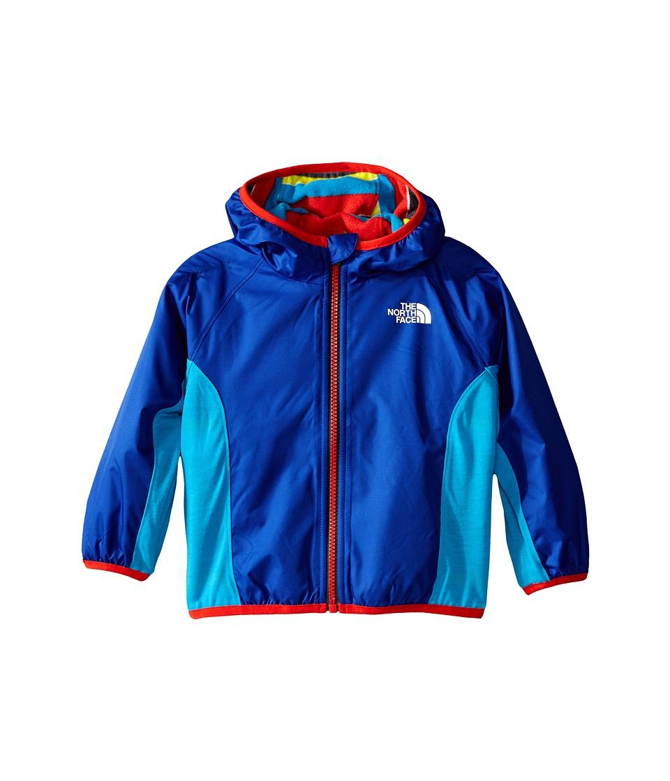 The North Face Kids - Reversible Grizzly Peak Wind Jacket (Infant) (Marker Blue) Kid's Coat