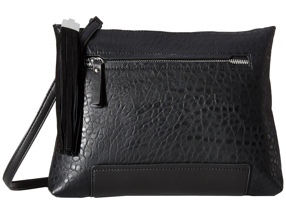 French Connection - Camden - Clutch (Black/Black) Clutch Handbags