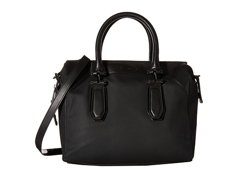 French Connection - Farrah - Satchel (Black/Black) Satchel Handbags