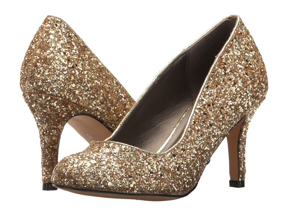 Michael Antonio Finnea Glitter (Gold) High Heels