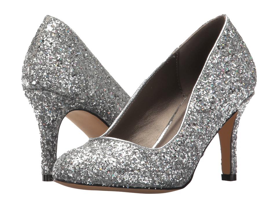 Michael Antonio - Finnea - Glitter (Silver) High Heels