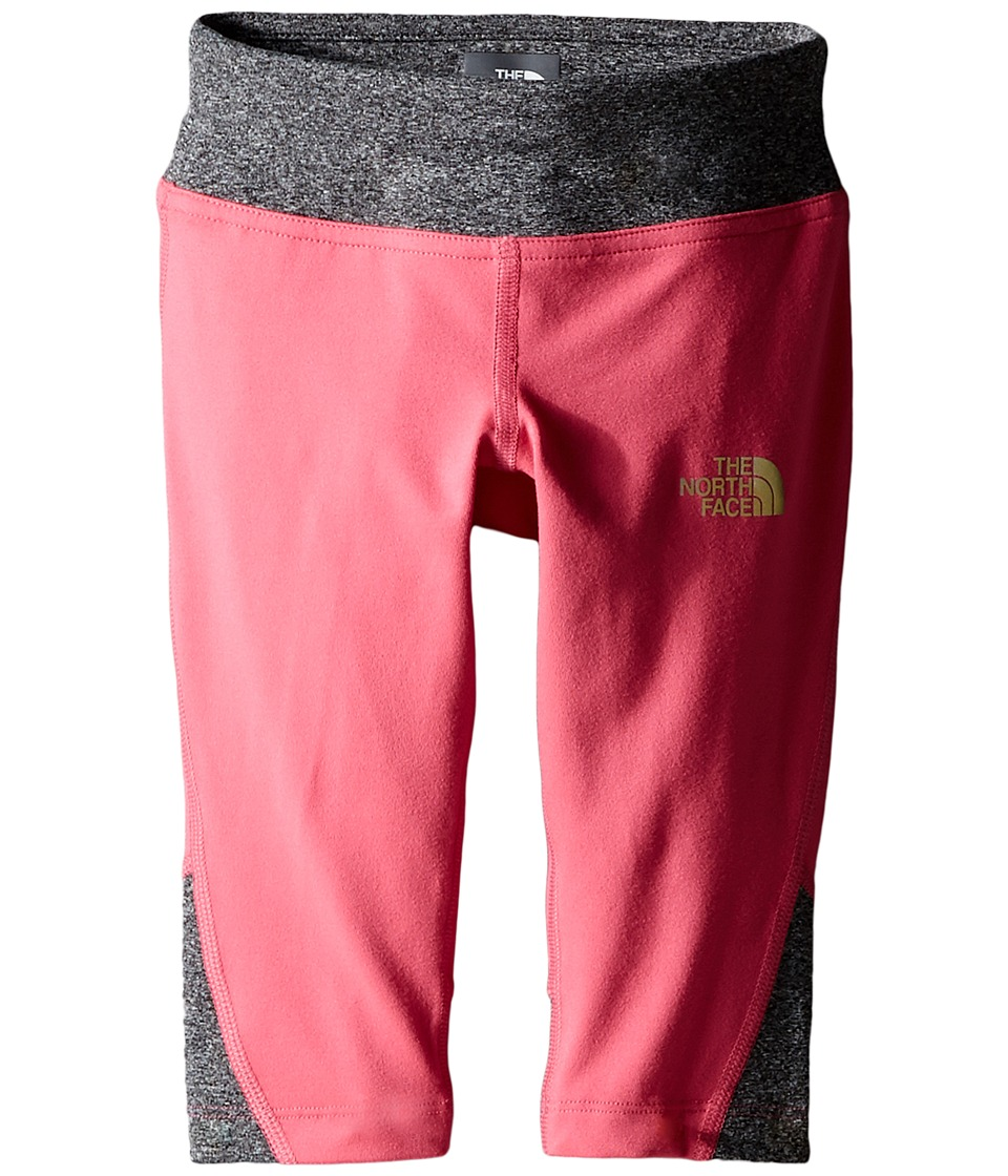 The North Face Kids - Pulse Capris (Little Kids/Big Kids) (Cha Cha Pink) Girl's Capri