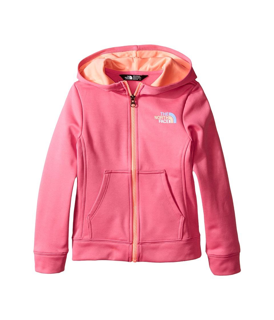 The North Face Kids - Surgent Full Zip Hoodie (Little Kids/Big Kids) (Cha Cha Pink) Girl's Sweatshirt