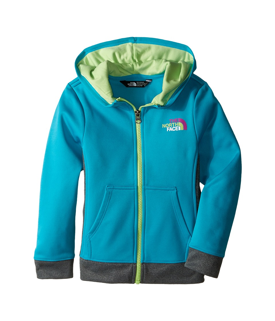 The North Face Kids - Surgent Full Zip Hoodie (Little Kids/Big Kids) (Bluebird) Girl's Sweatshirt