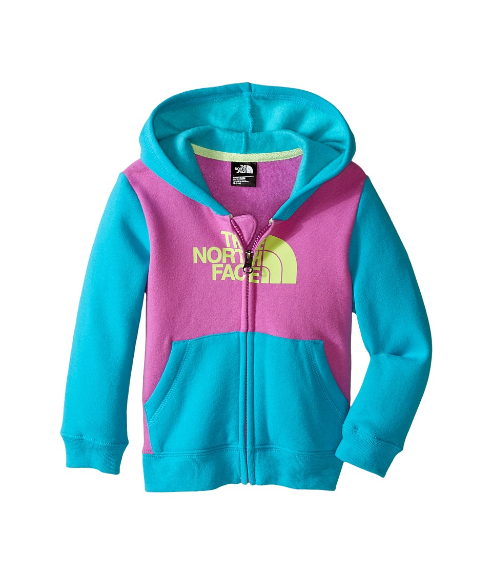 The North Face Kids - Logowear Full Zip Hoodie (Infant) (Sweet Violet) Kid's Sweatshirt