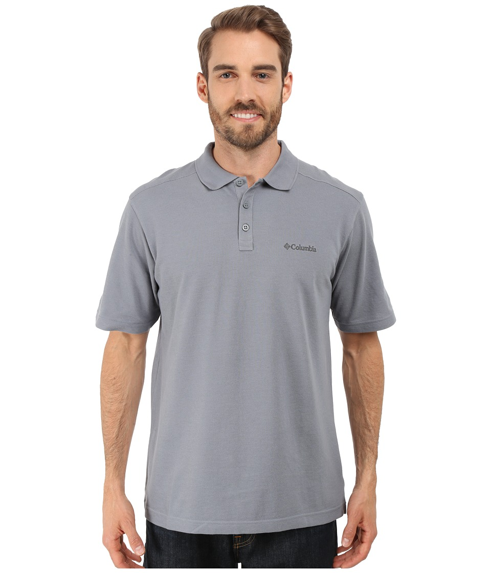 Columbia - Elm Creek Polo (Grey Ash) Men's Short Sleeve Knit