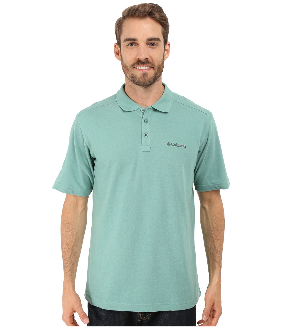 Columbia - Elm Creek Polo (Gemstone) Men's Short Sleeve Knit
