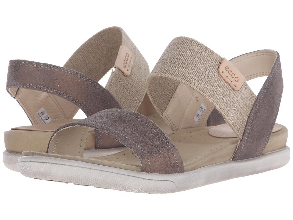 ECCO Damara Ankle Sandal (Warm Grey) Women