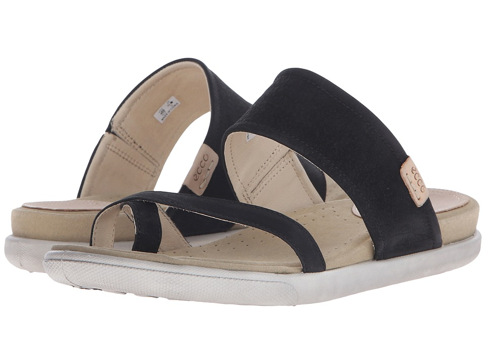 ECCO - Damara Sandal (Black) Women's Sandals