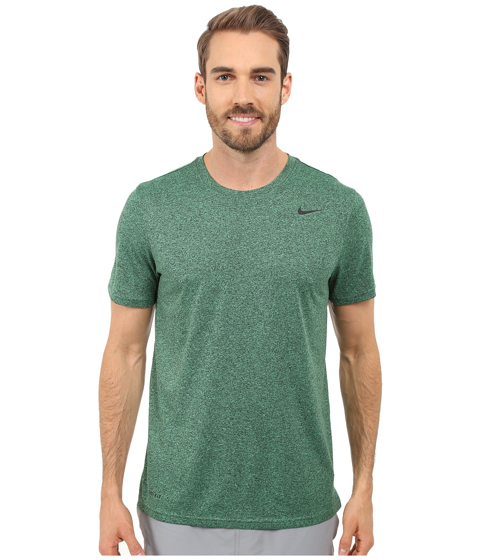 Nike - Legend 2.0 Short Sleeve Tee (Spring Leaf/Black/Black/Black) Men's T Shirt