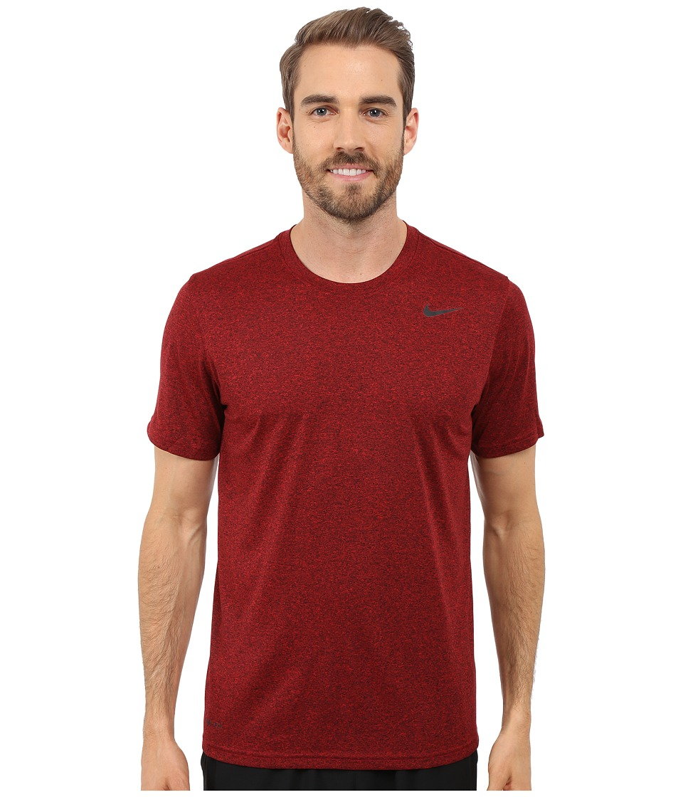 Nike - Legend 2.0 Short Sleeve Tee (University Red/Black/Black/Black) Men's T Shirt