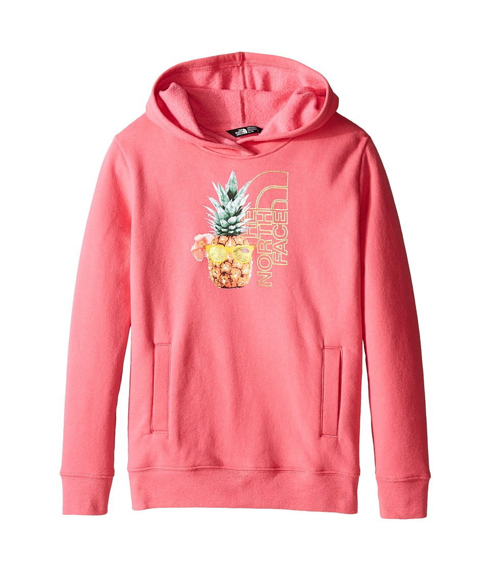The North Face Kids - Logowear Pullover Hoodie (Little Kids/Big Kids) (Cha Cha Pink) Girl's Sweatshirt