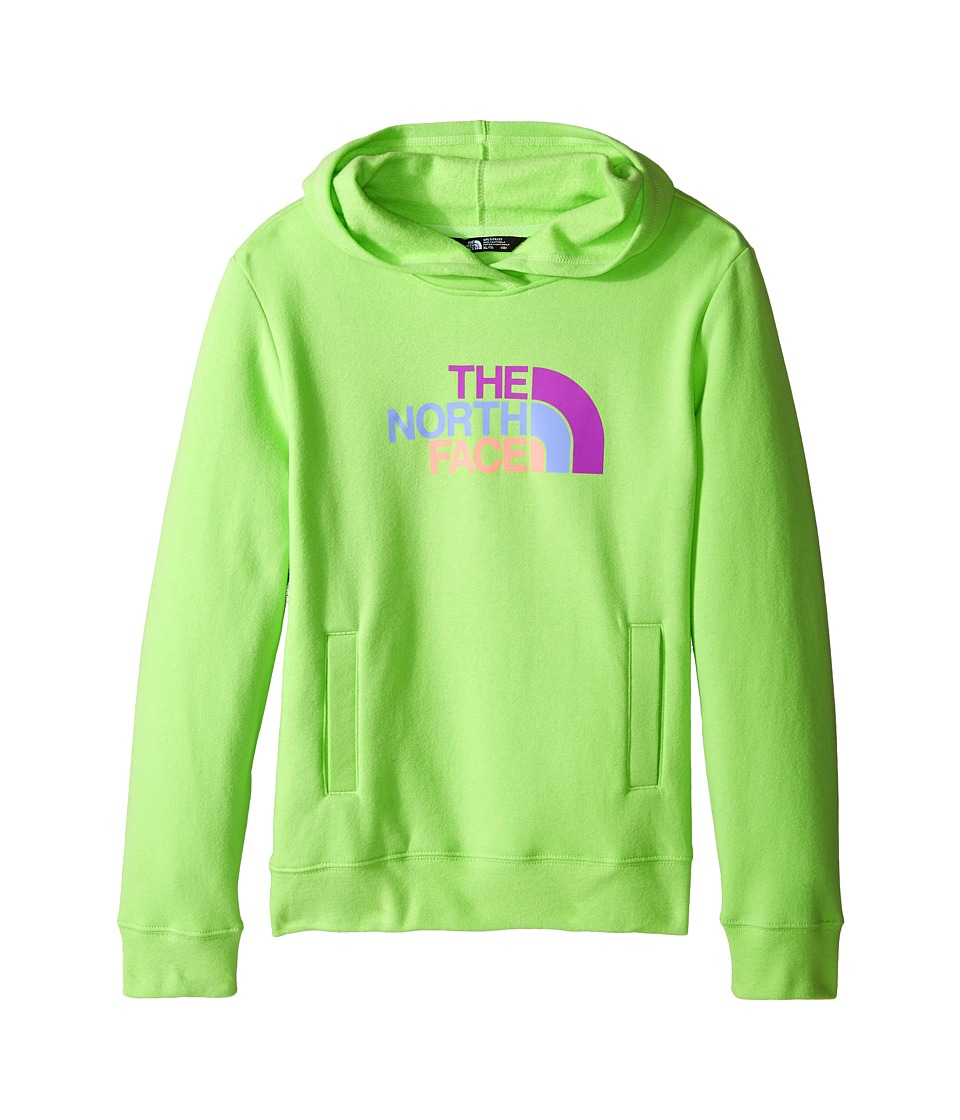 The North Face Kids - Logowear Pullover Hoodie (Little Kids/Big Kids) (Budding Green) Girl's Sweatshirt