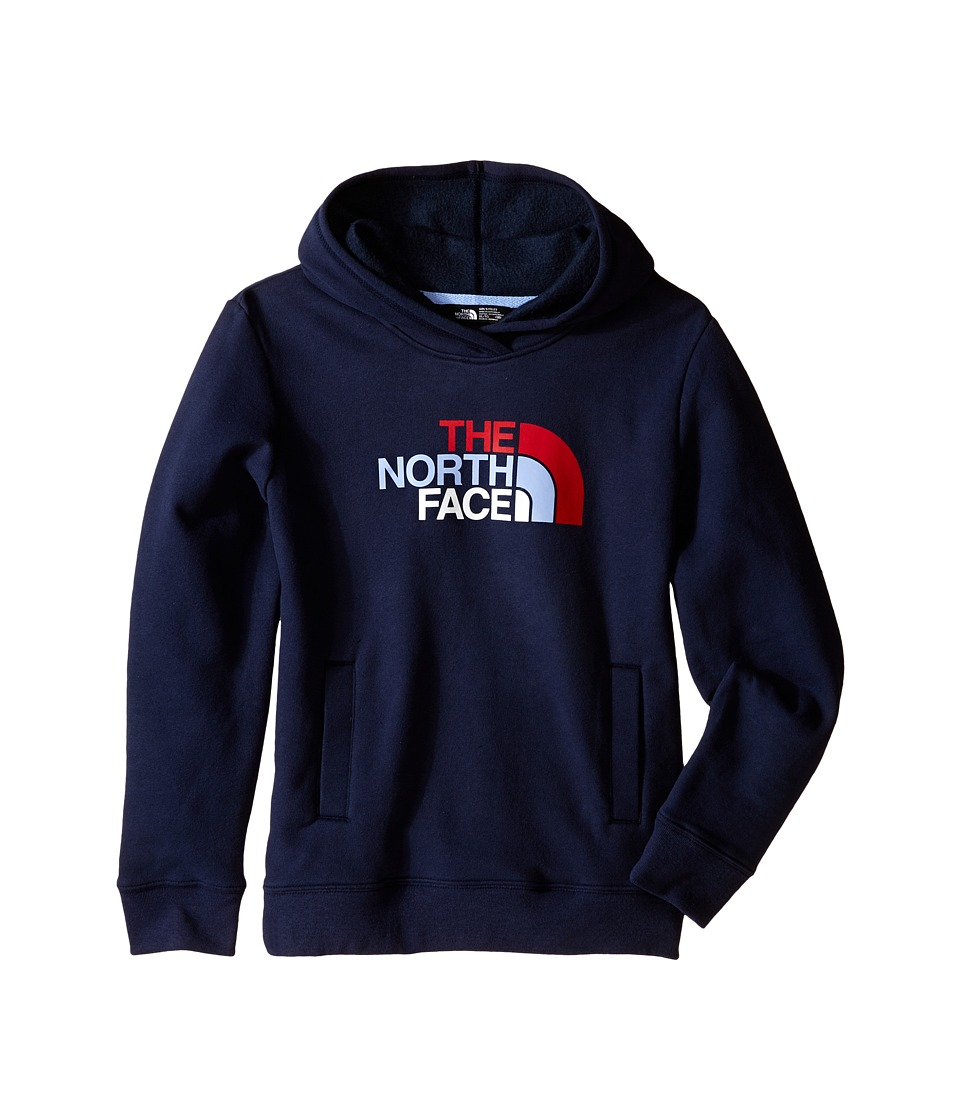 The North Face Kids - Logowear Pullover Hoodie (Little Kids/Big Kids) (Cosmic Blue) Girl's Sweatshirt