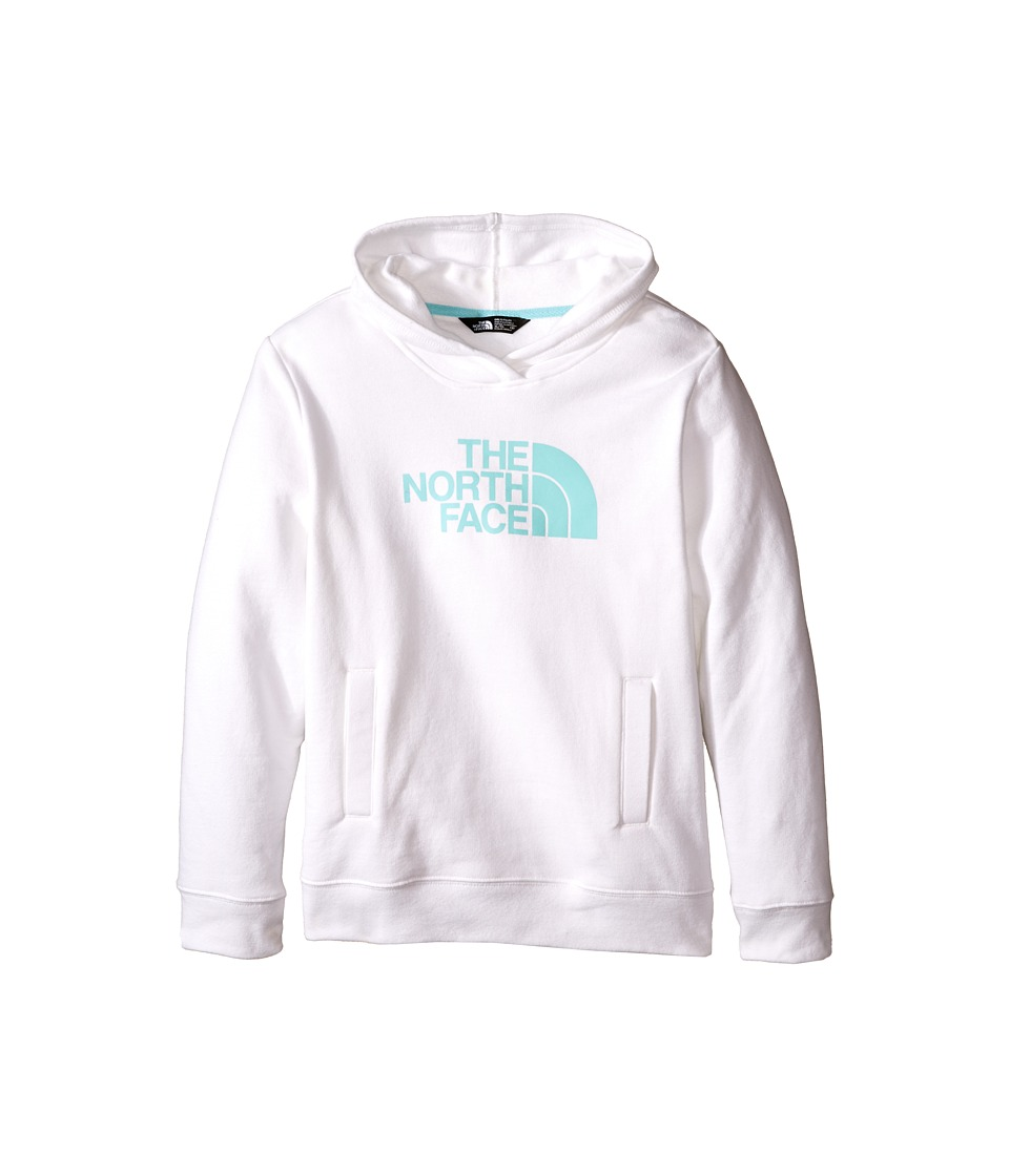 The North Face Kids - Logowear Pullover Hoodie (Little Kids/Big Kids) (TNF White) Girl's Sweatshirt