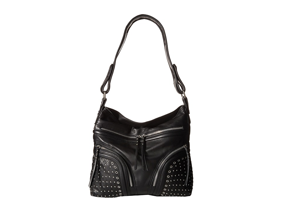 French Connection - Beatrix - Hobo (Black) Hobo Handbags