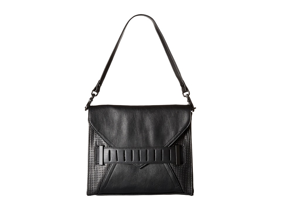 French Connection - Harper - Clutch (Black) Clutch Handbags