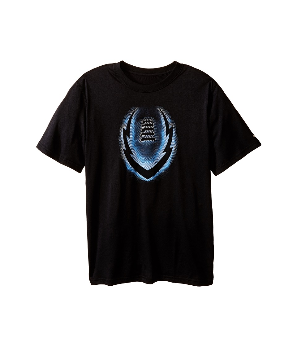 Nike Kids - Legend Ignite Glow Tee (Little Kids/Big Kids) (Black) Boy's T Shirt