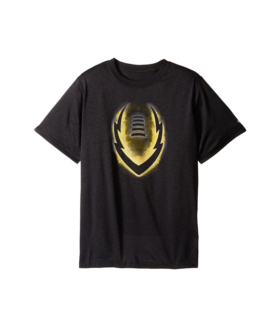 Nike Kids - Legend Ignite Glow Tee (Little Kids/Big Kids) (Anthracite) Boy's T Shirt