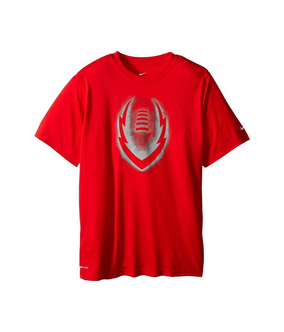 Nike Kids - Legend Ignite Glow Tee (Little Kids/Big Kids) (University Red) Boy's T Shirt