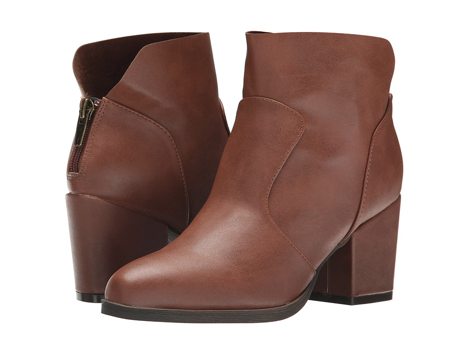 Michael Antonio - Moone (Whiskey) Women's Zip Boots