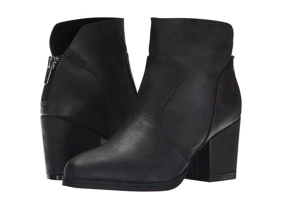 Michael Antonio - Moone (Black) Women's Zip Boots