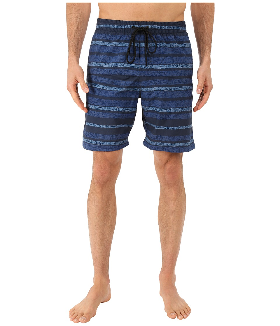 Columbia - Lakeside Leisure Printed Shorts II (Night Tide) Men's Shorts