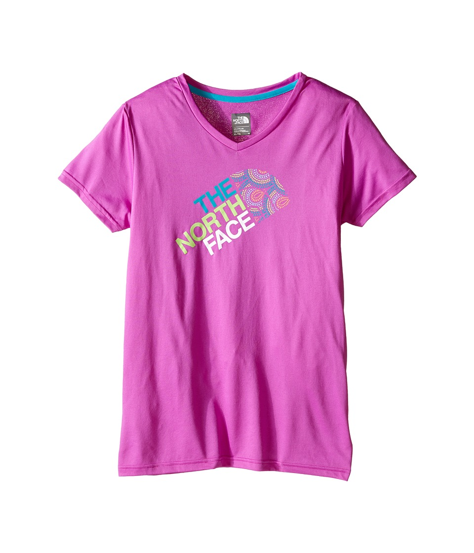 The North Face Kids - Short Sleeve Reaxion Tee (Little Kids/Big Kids) (Sweet Violet) Girl's Short Sleeve Pullover
