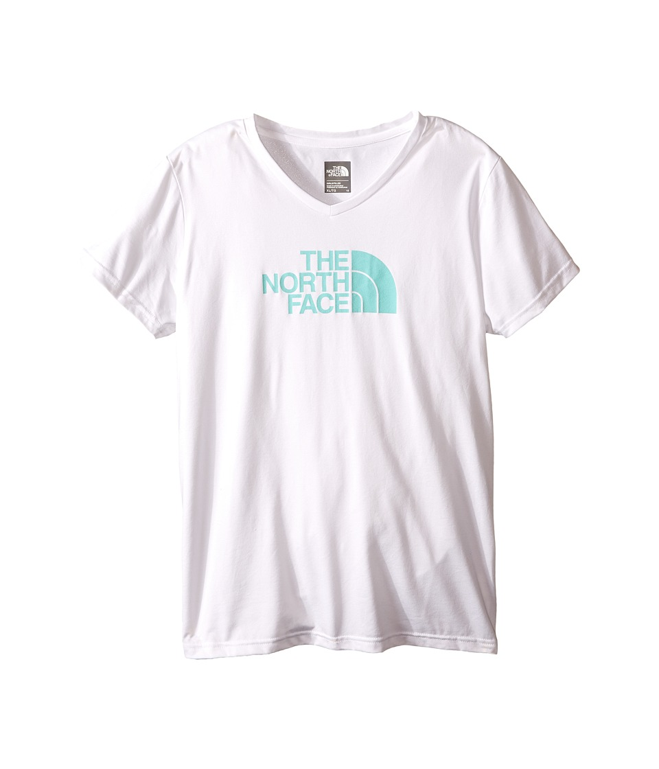 The North Face Kids - Short Sleeve Reaxion Tee (Little Kids/Big Kids) (TNF White) Girl's Short Sleeve Pullover