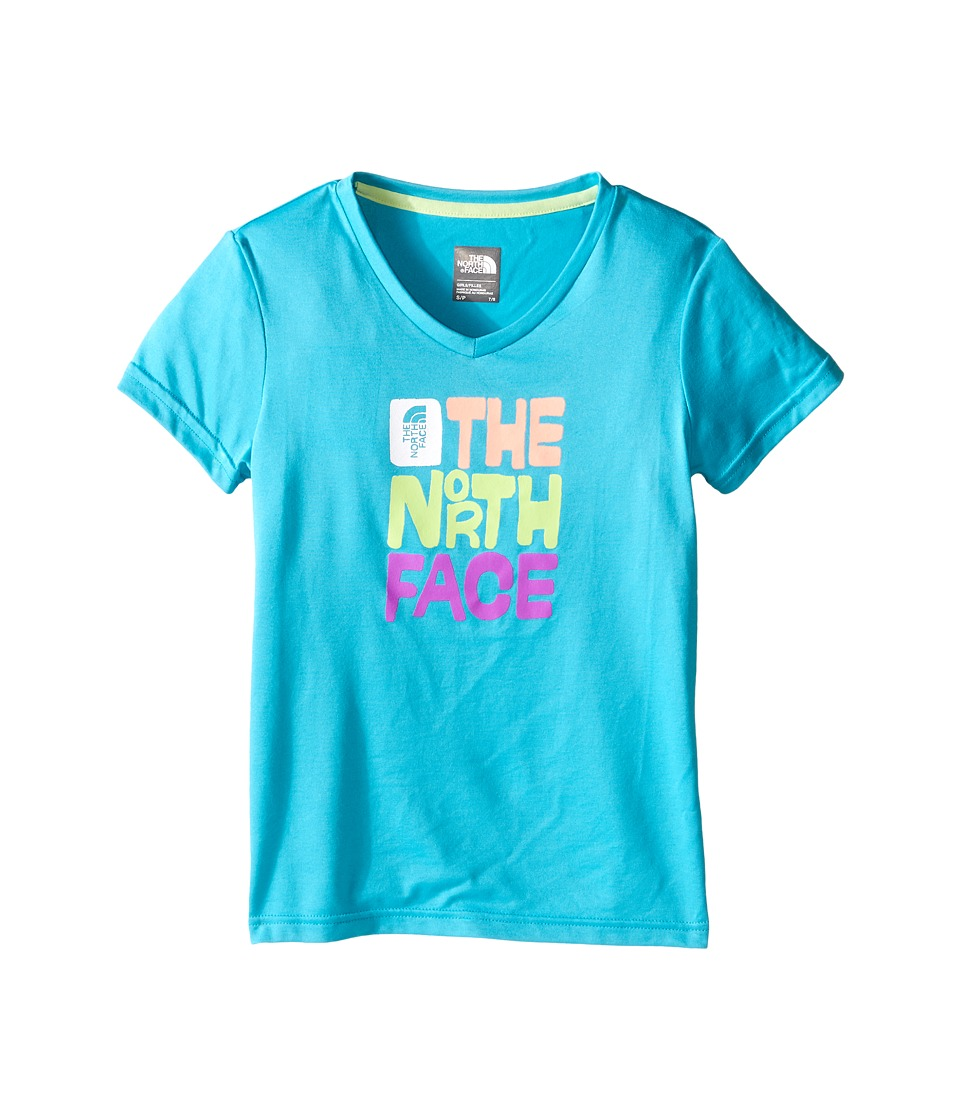 The North Face Kids - Short Sleeve Reaxion Tee (Little Kids/Big Kids) (Bluebird) Girl's Short Sleeve Pullover