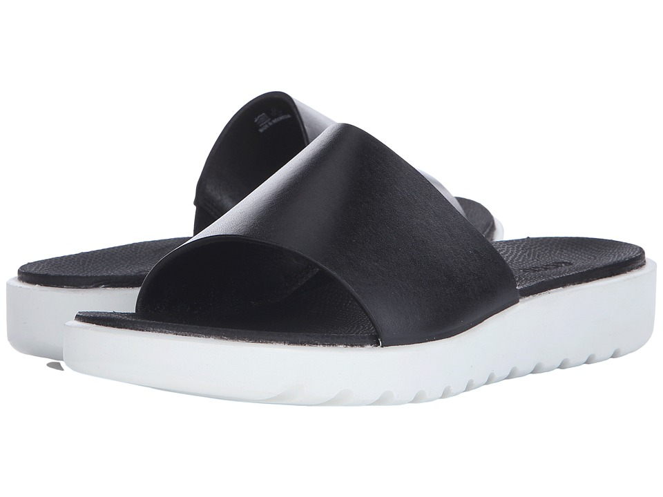 ECCO - Freja Slide (Black) Women's Sandals