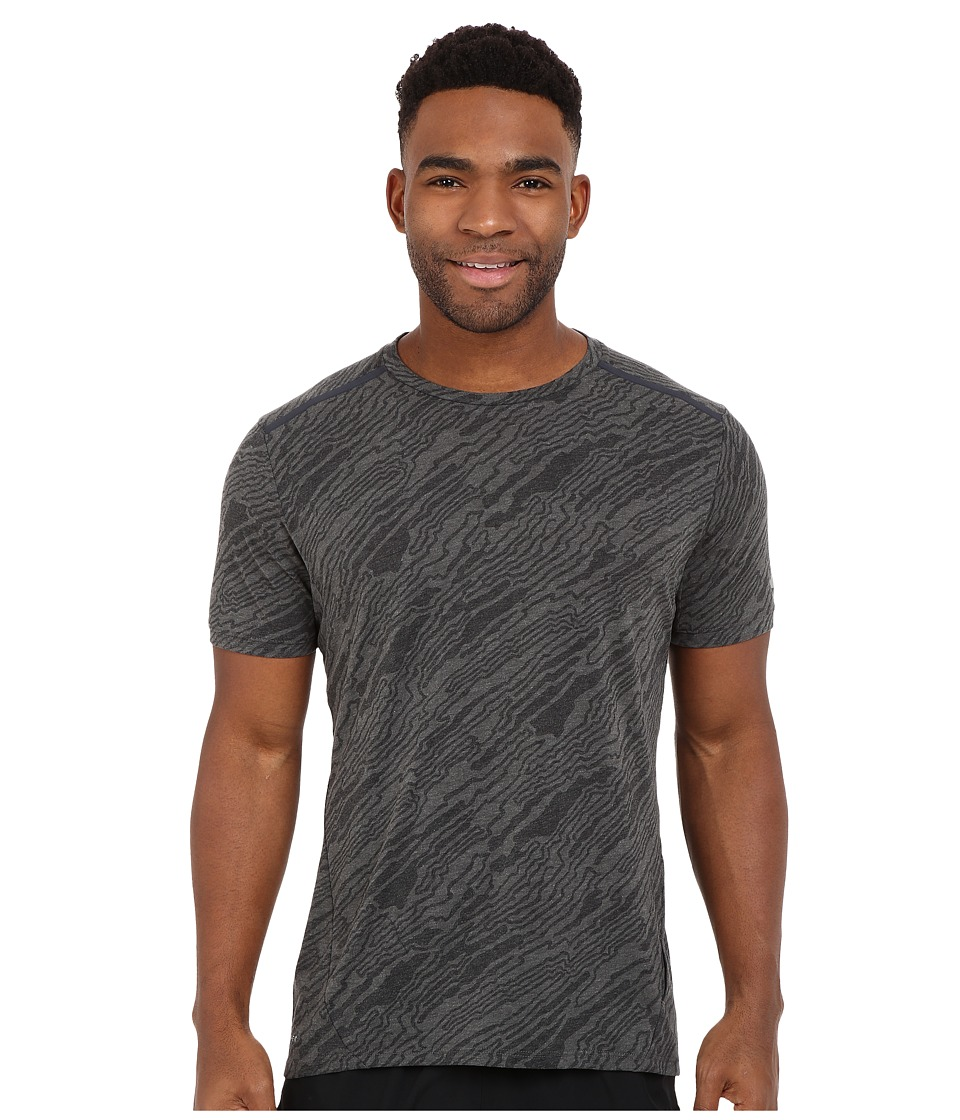 Nike - Dri-FIT Elevate Tailwind Running Shirt (Black) Men's Short Sleeve Pullover