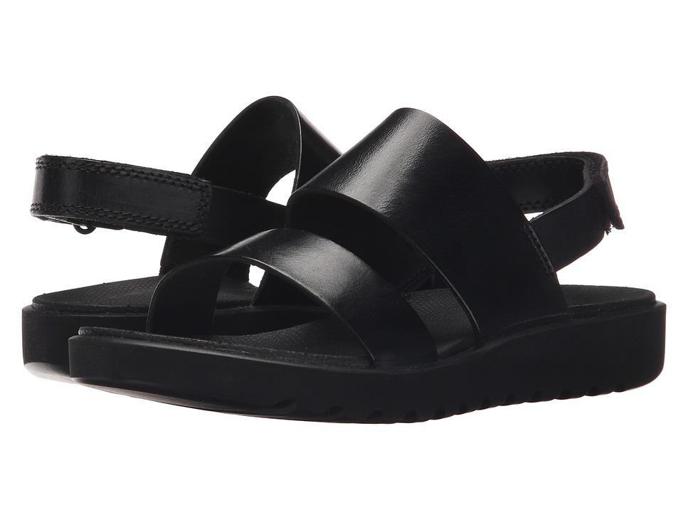 ECCO - Freja 2 Strap Sandal (Black) Women's Sandals