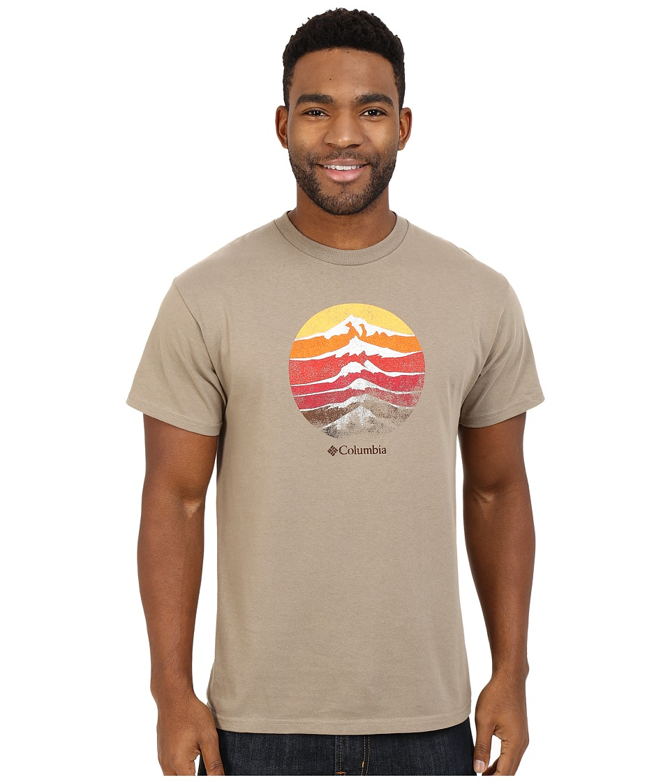Columbia - CSC Mountain Rise Tee (Flax) Men's Short Sleeve Pullover