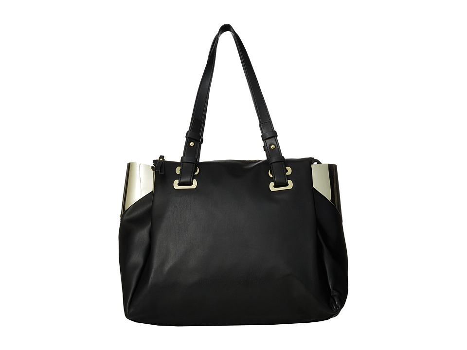 French Connection - Nixon - Tote (Black/Gold) Tote Handbags