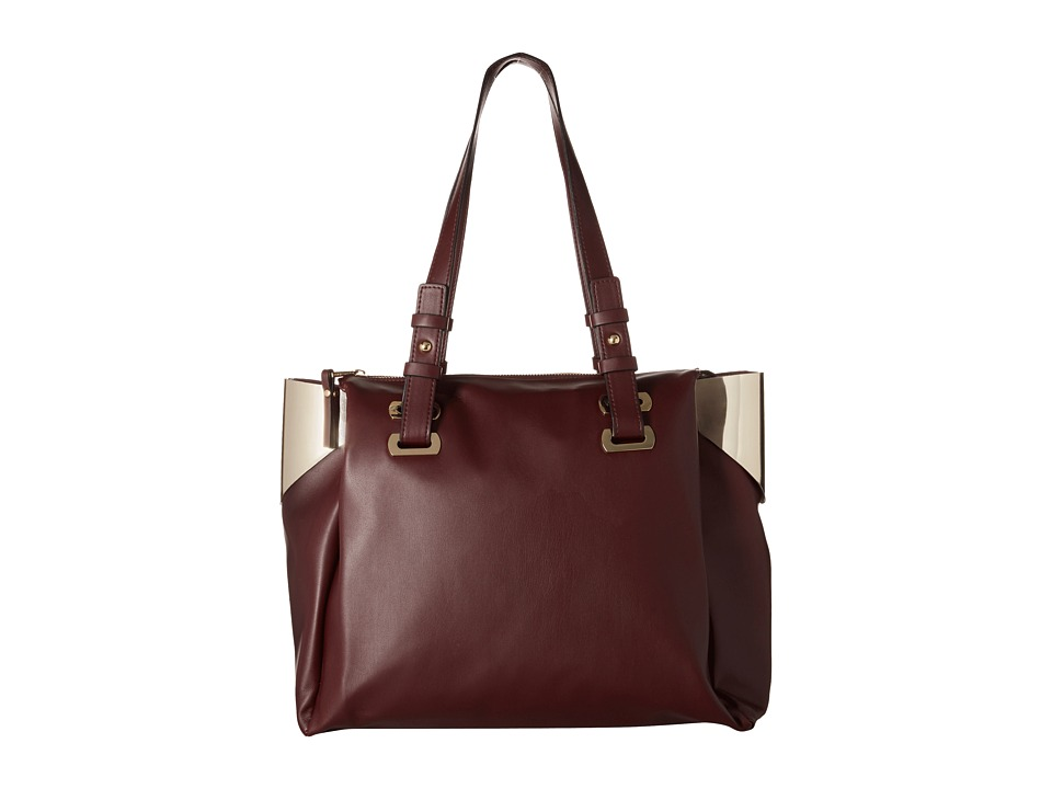 French Connection - Nixon - Tote (Biker Berry/Gold) Tote Handbags