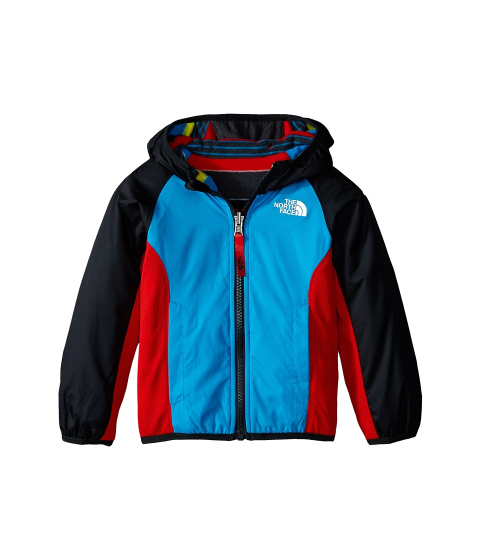 The North Face Kids - Reversible Grizzly Peak Wind Jacket (Toddler) (Meridian Blue/Asphalt Grey) Boy's Coat