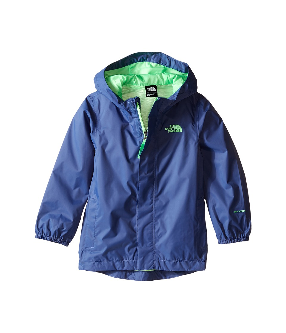 The North Face Kids Tailout Rain Jacket (Toddler) (Pelagic Blue) Boy