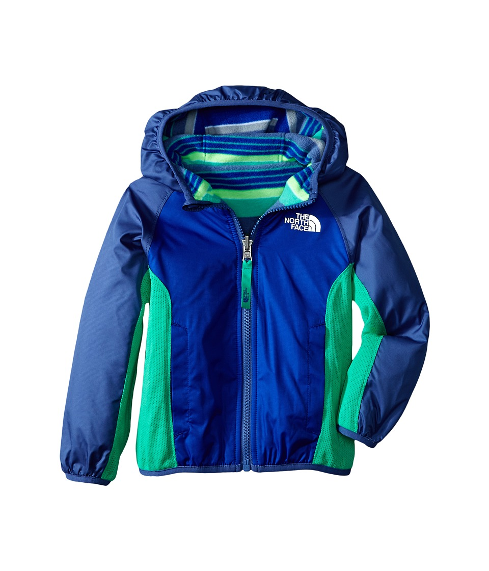 The North Face Kids - Reversible Grizzly Peak Wind Jacket (Toddler) (Marker Blue/Pelagic Blue) Boy's Coat