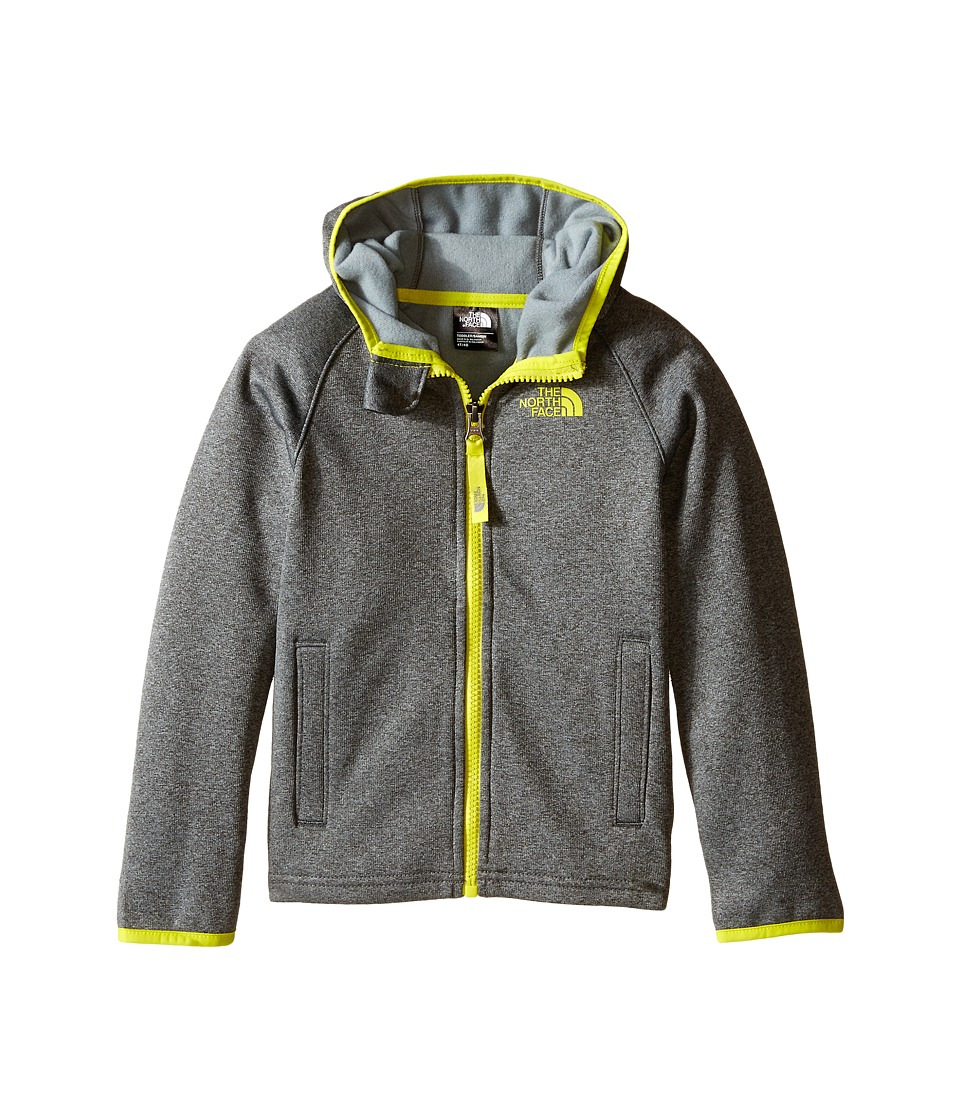 The North Face Kids - Canyonlands Hooded Jacket (Toddler) (TNF Dark Grey Heather) Boy's Sweatshirt