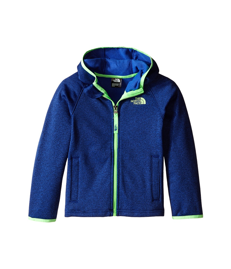 The North Face Kids - Canyonlands Hooded Jacket (Toddler) (Marker Blue Heather) Boy's Sweatshirt