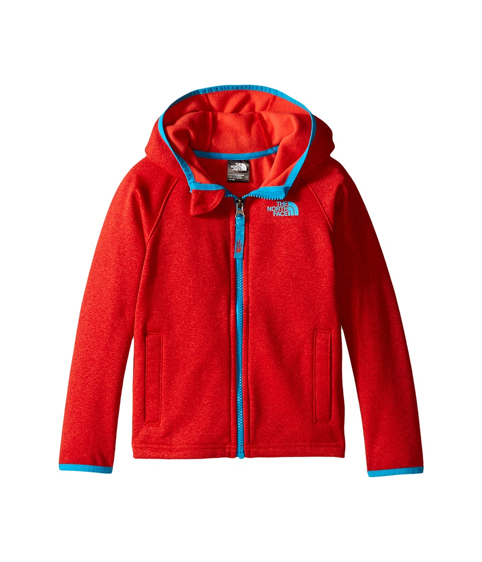 The North Face Kids - Canyonlands Hooded Jacket (Toddler) (Fiery Red Heather) Boy's Sweatshirt